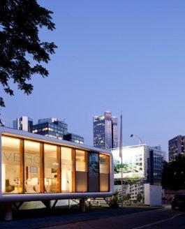 Nomadic Architecture: Loftcube in FFM-Westend