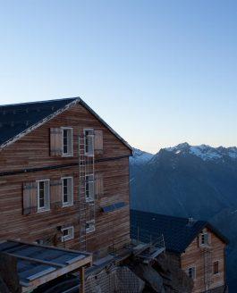 Höchste Baustelle im Wallis / Schweiz