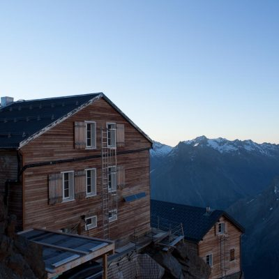 Mischabellhütte, Saas-Fee