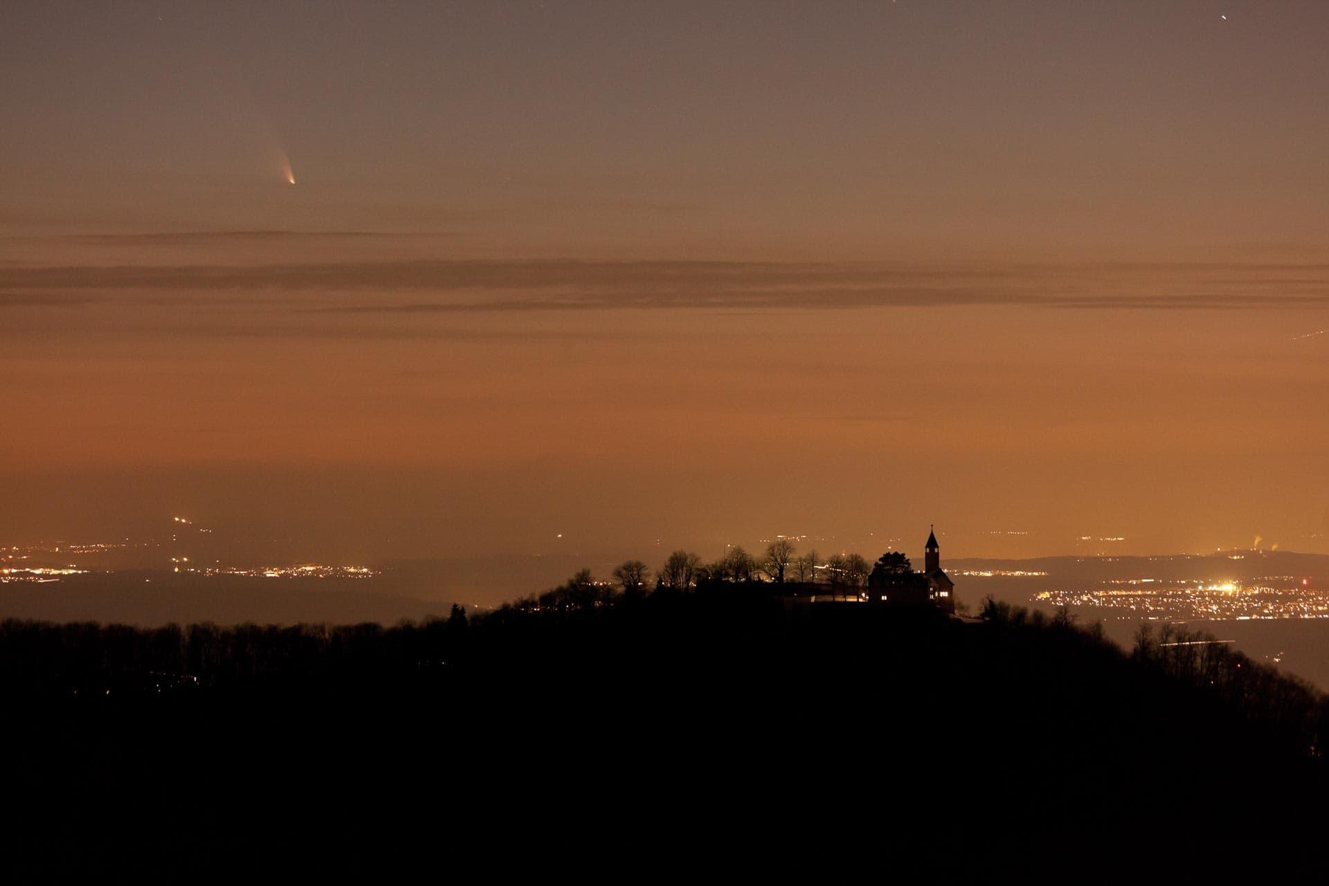 Burg Teck, Komet C/2011 L4 Panstarrs