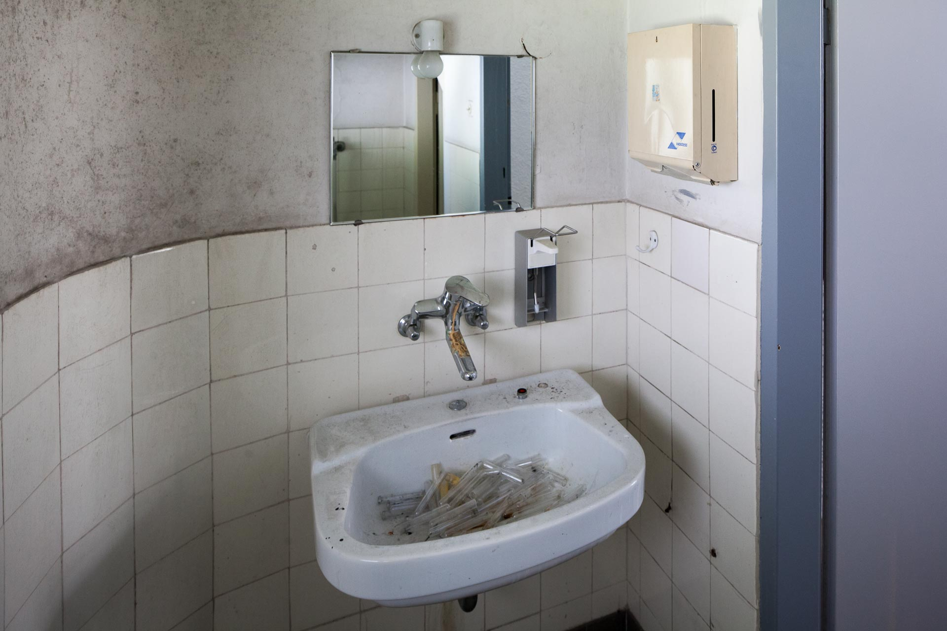 Abandoned Places: Verlassene Klinik, abandoned hospital