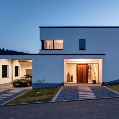 Einfamilienhaus-Fotografie in Bruch