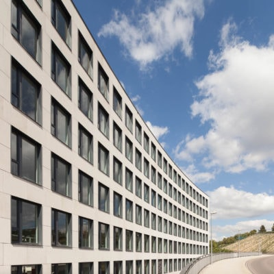 Bürogebäude-Fotografie in Stuttgart