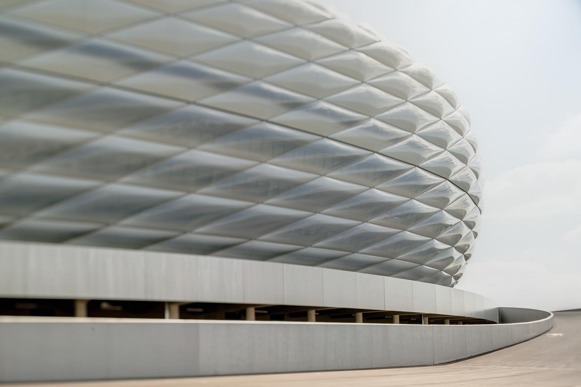 Stadionfotografie Allianz Arena/Herzog De Meuron