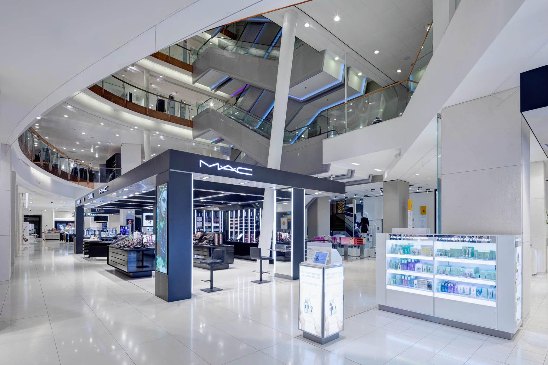 Retail Fotografie De Bijenkorf, Den Haag