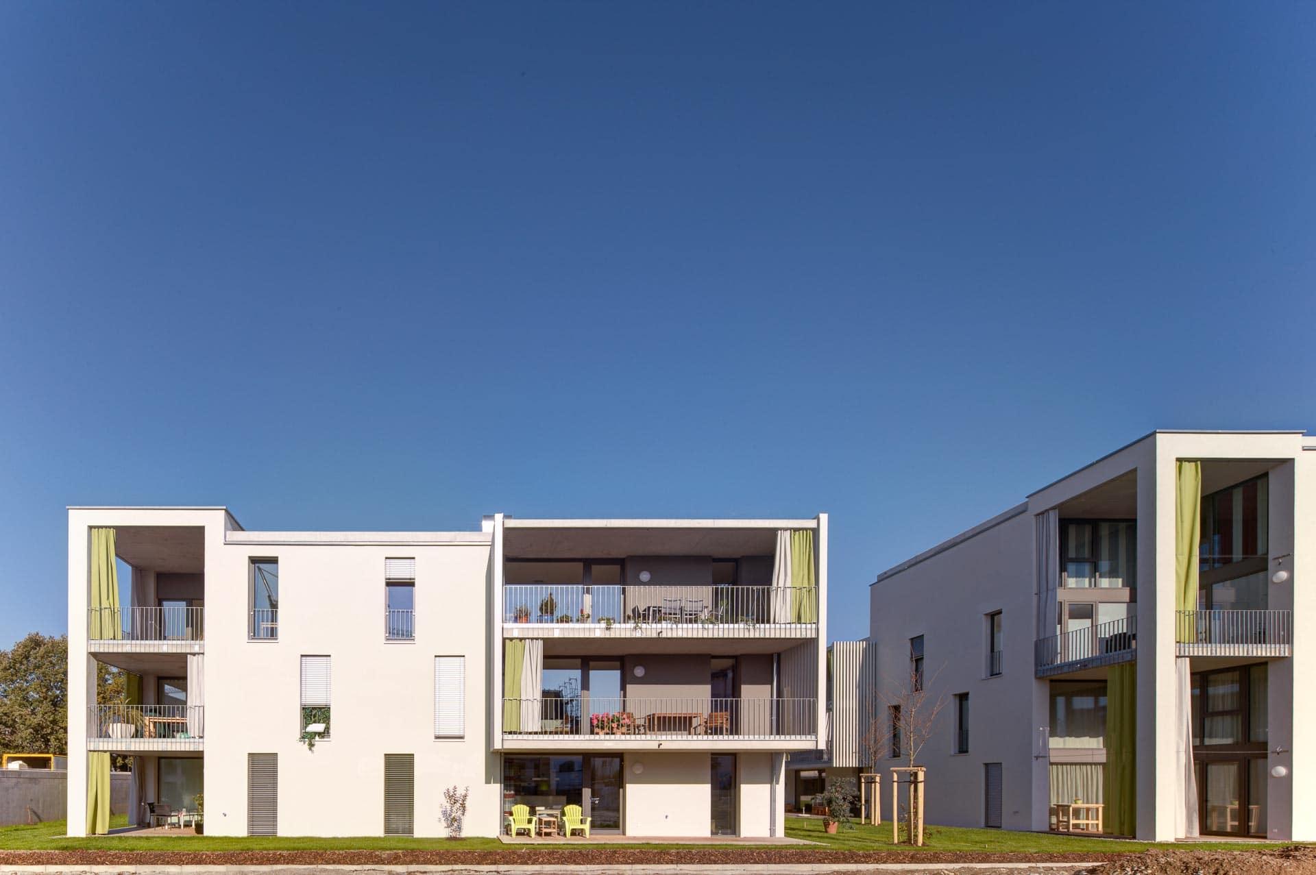 Solarstadt Weil am Rhein. Architekturfotografie.