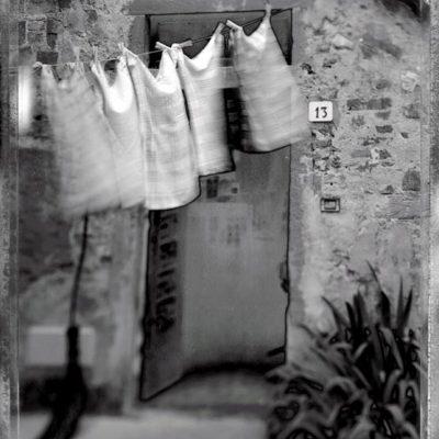 Polaroid Type 55: Toskana auf 4×5 Inch