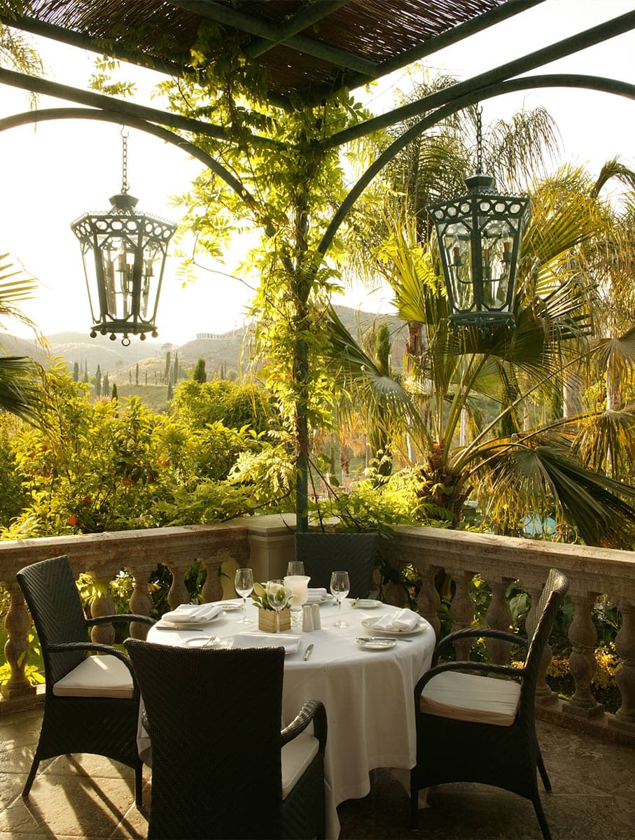Hotelfotografie in Spanien: Villa Padierna bei Marbella.