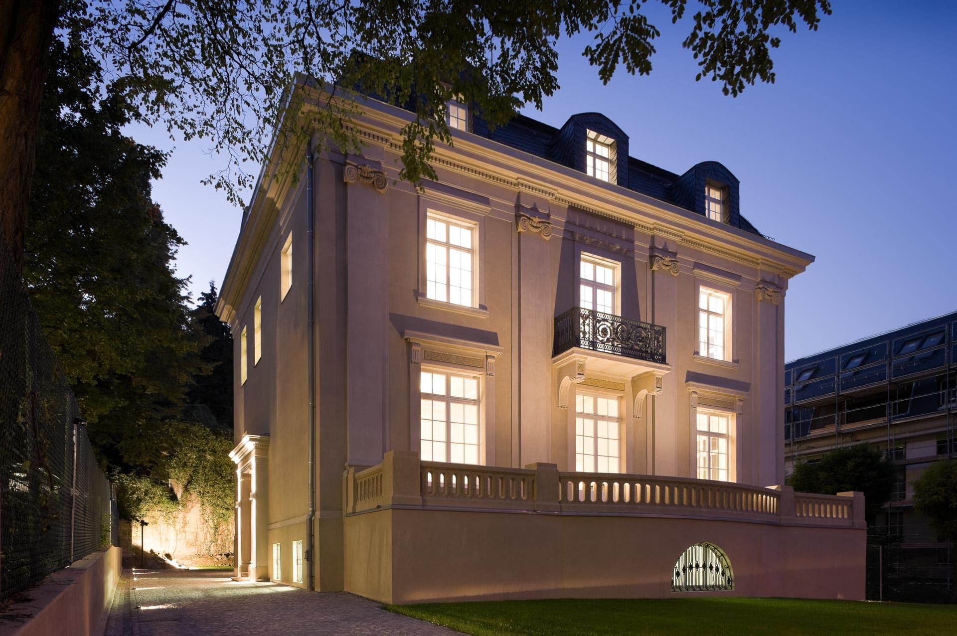 Stuttgart, Mörikestraße: Fotografie nach Renovierung einer Altbau-Villa