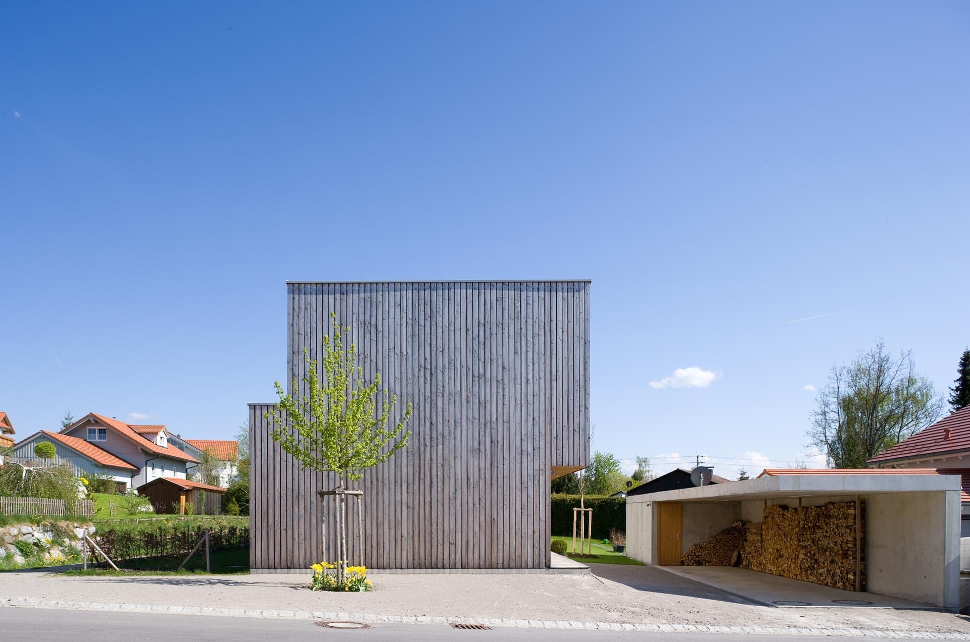 Architekturfotografie Einfamilienhaus
