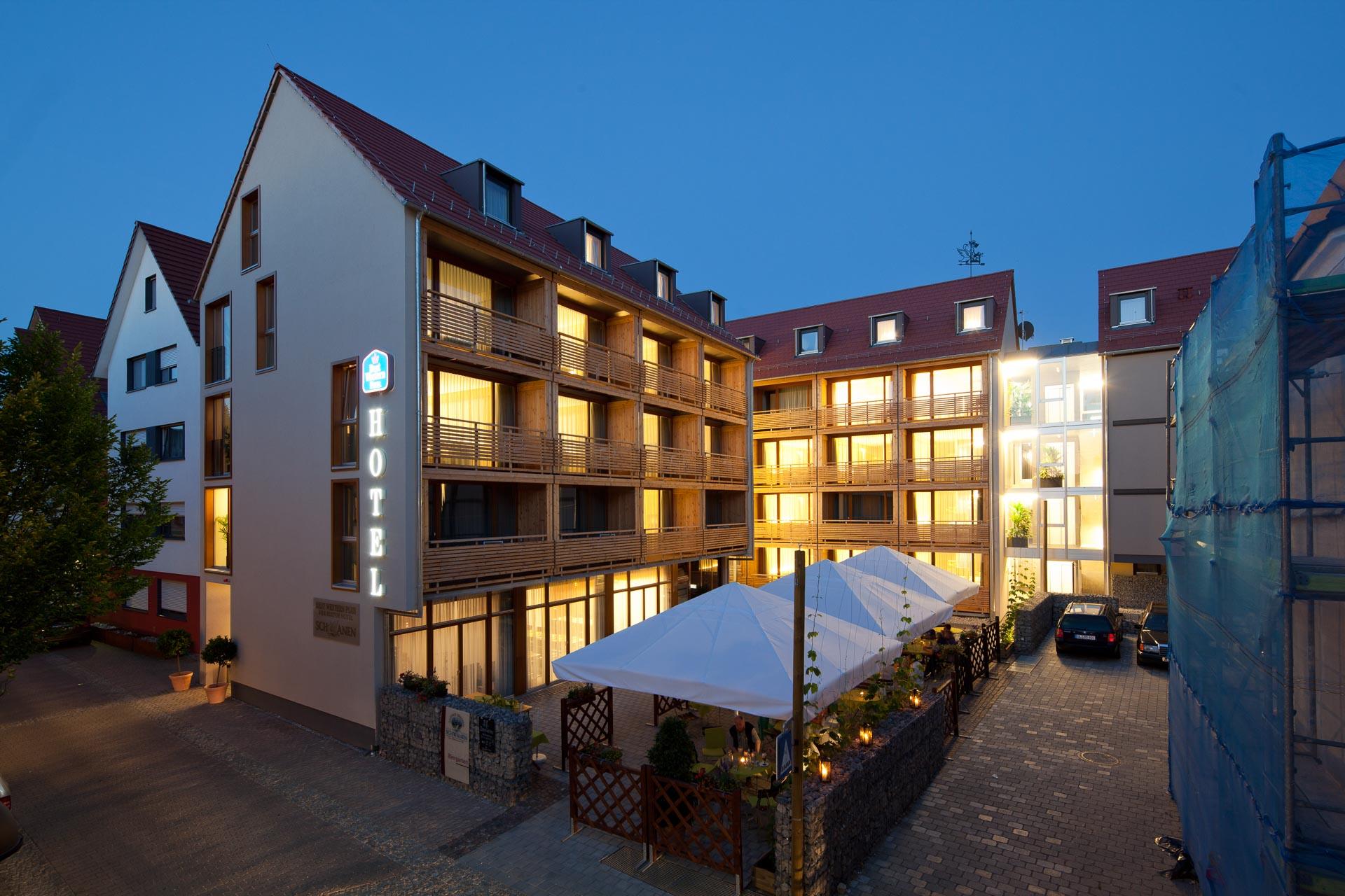 Hotelfotografie Schwanen Ehningen Süddeutschland Hotelfotografie: Schwanen in Ehningen an der Donau. Architekt: www.schwille-architekten.de