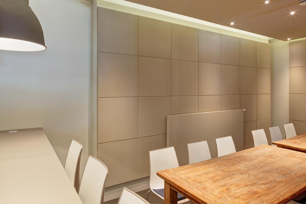 Zum Interior Design gehört auch die Raumakustik