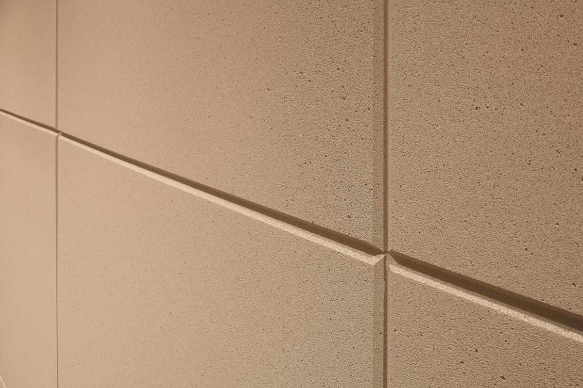 Akustikplatten im Detail fotografiert