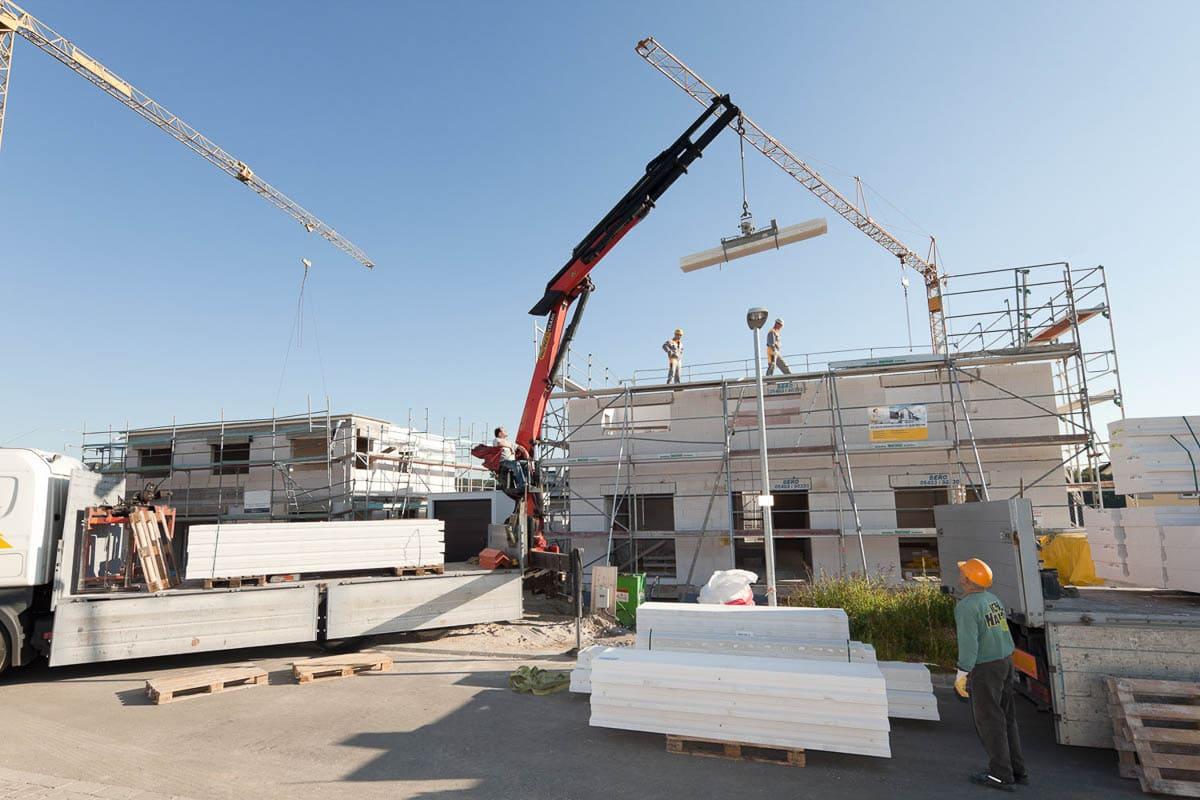 Wohnbau baustelle ytong einfamilienhaus 08 dirk wilhelmy for Baustile einfamilienhaus
