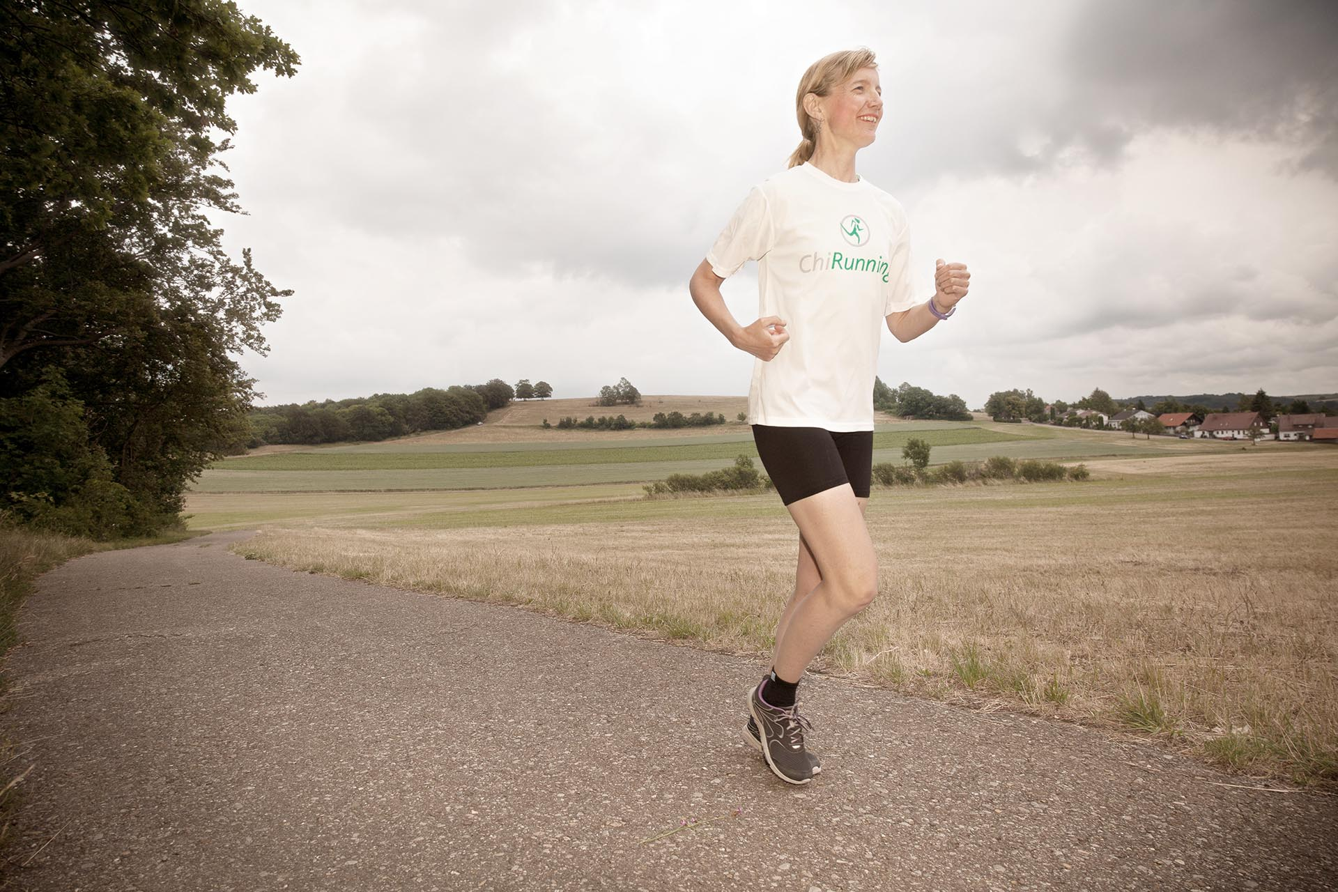 Peoplefotografie: Chi Running Instructor Fiona McLellan