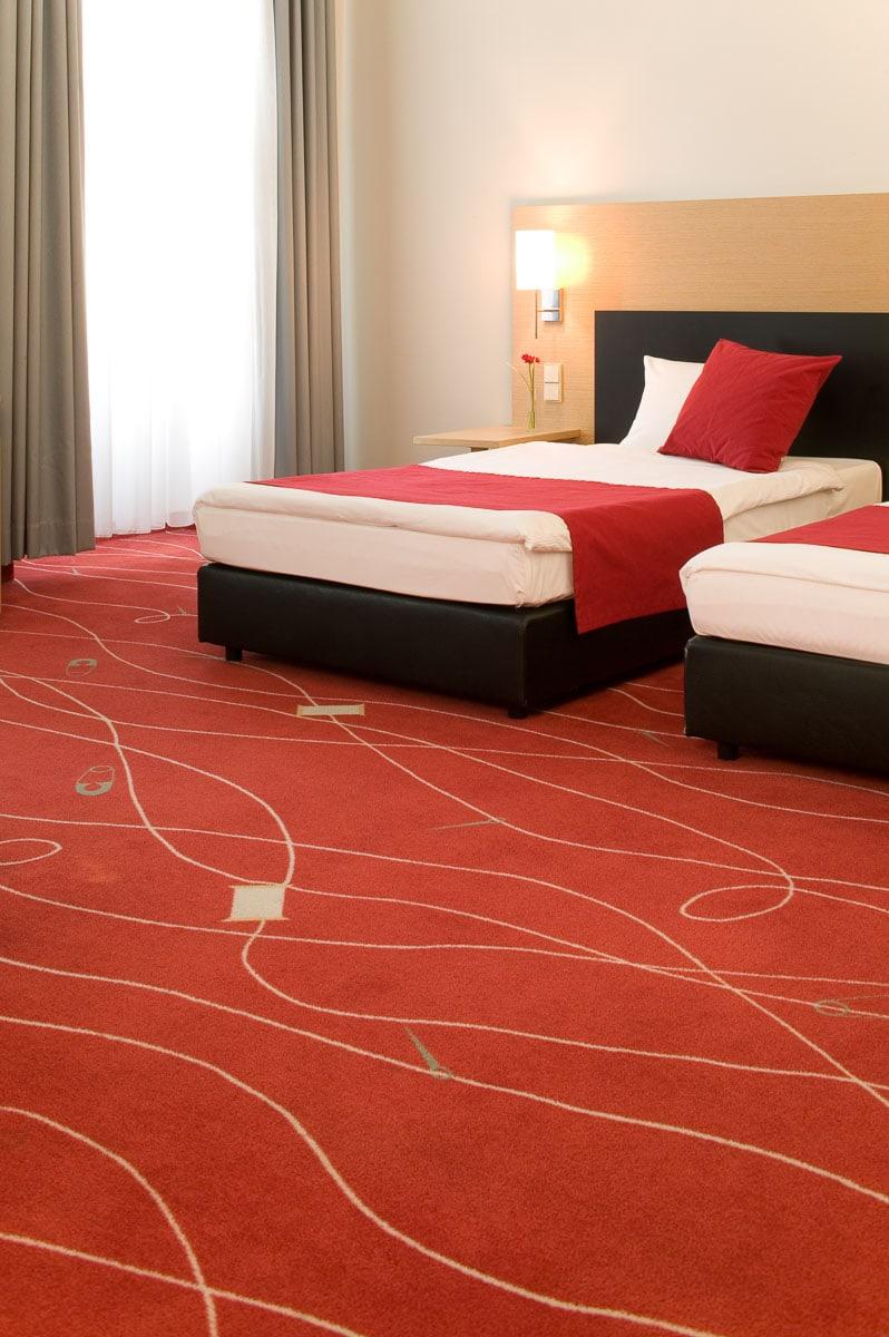 Hospitality Photography: Bodenbeläge für DLW im Hotel Art'otel Budapest