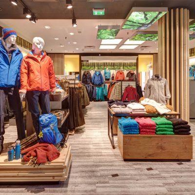 Retailfotografie Outdoor-Geschäft