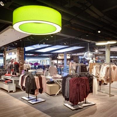 Einkaufscenter-Fotografie im A2-Center