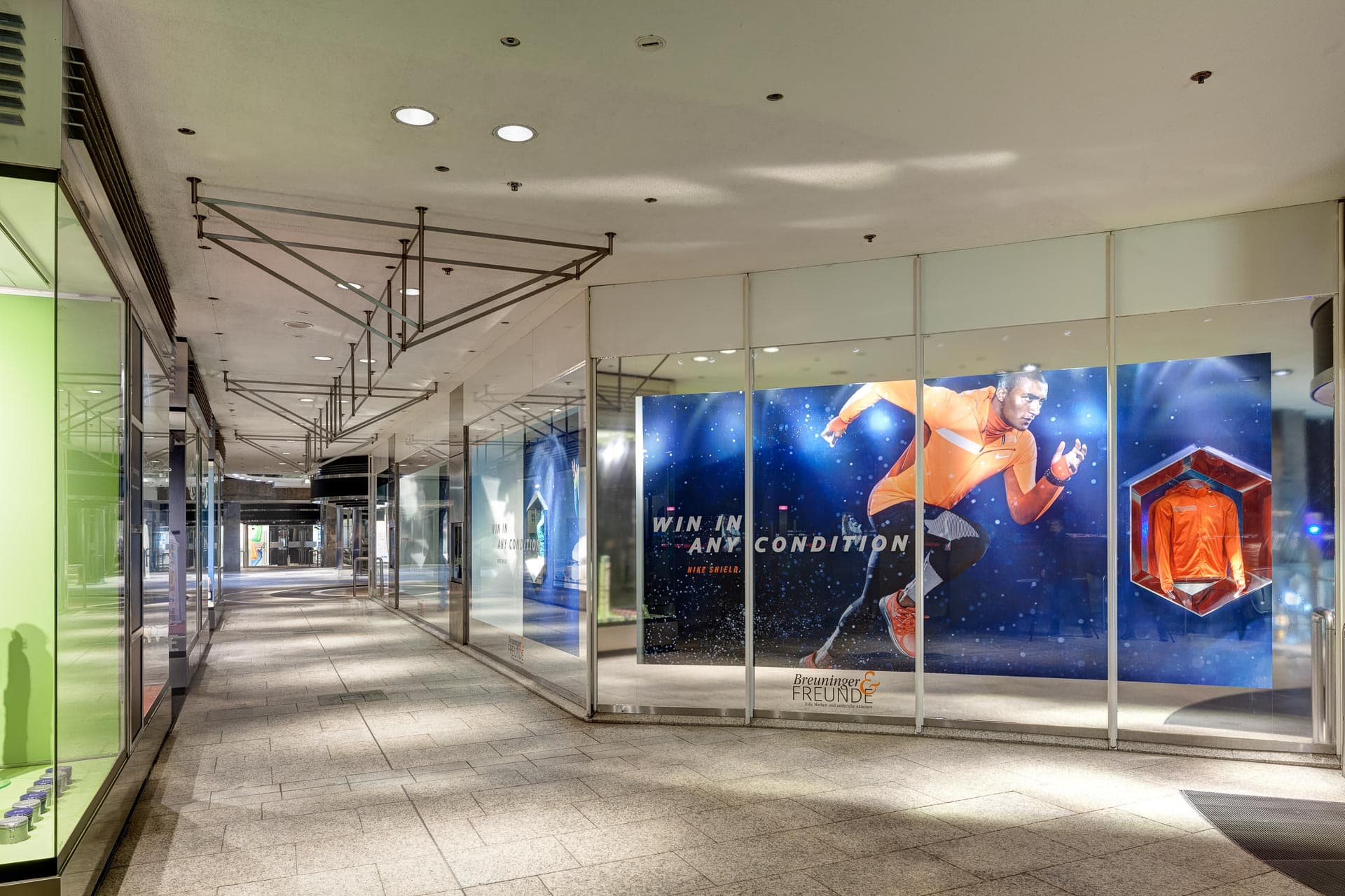 Markenauftritt Nike: Retailfotografie Stuttgart
