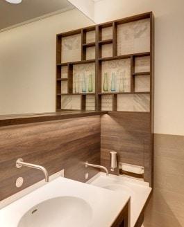 Bathroom Design im Einkaufscenter
