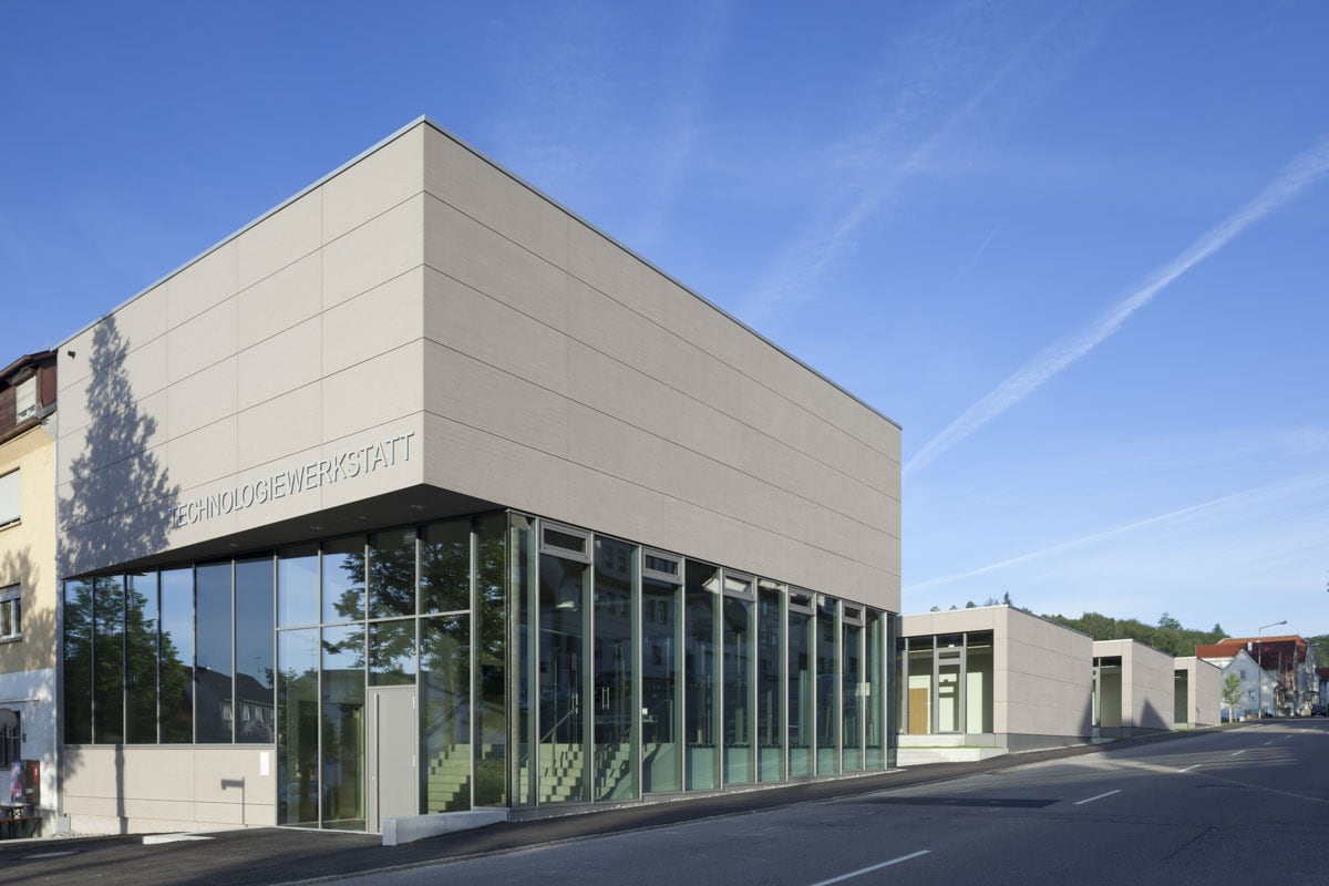 Architekturfotografie Albstadt Gründerzentrum Technologiewerkstatt Albstatt