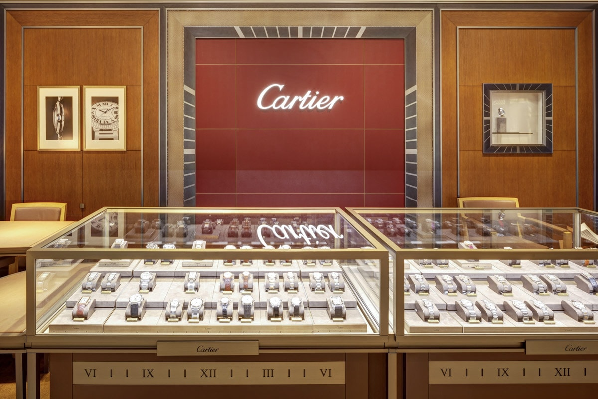 Cartier Shop Fotografie