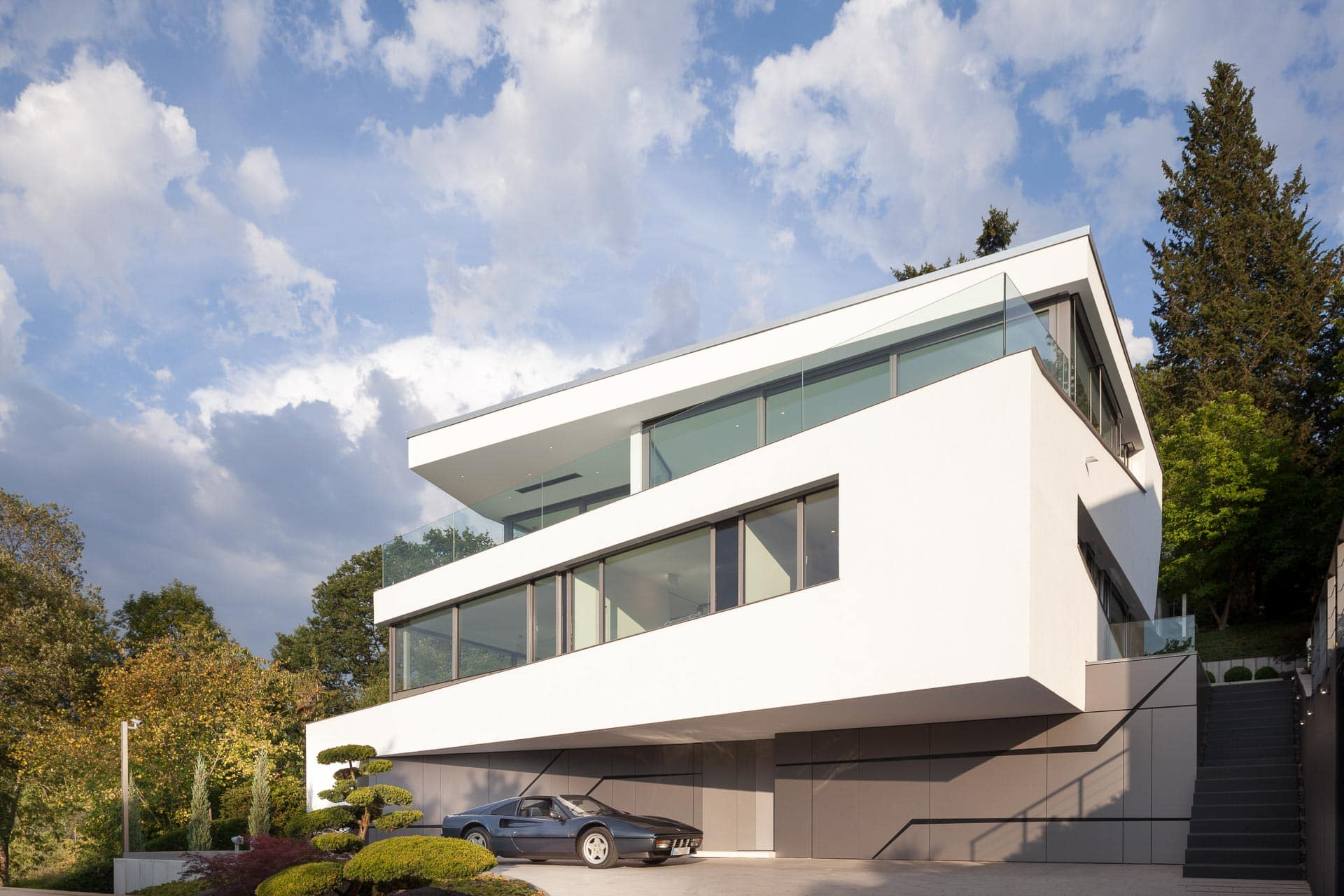 Architekturfotografie Villa Perlweiss in Stuttgart von Lee Mir Architekten