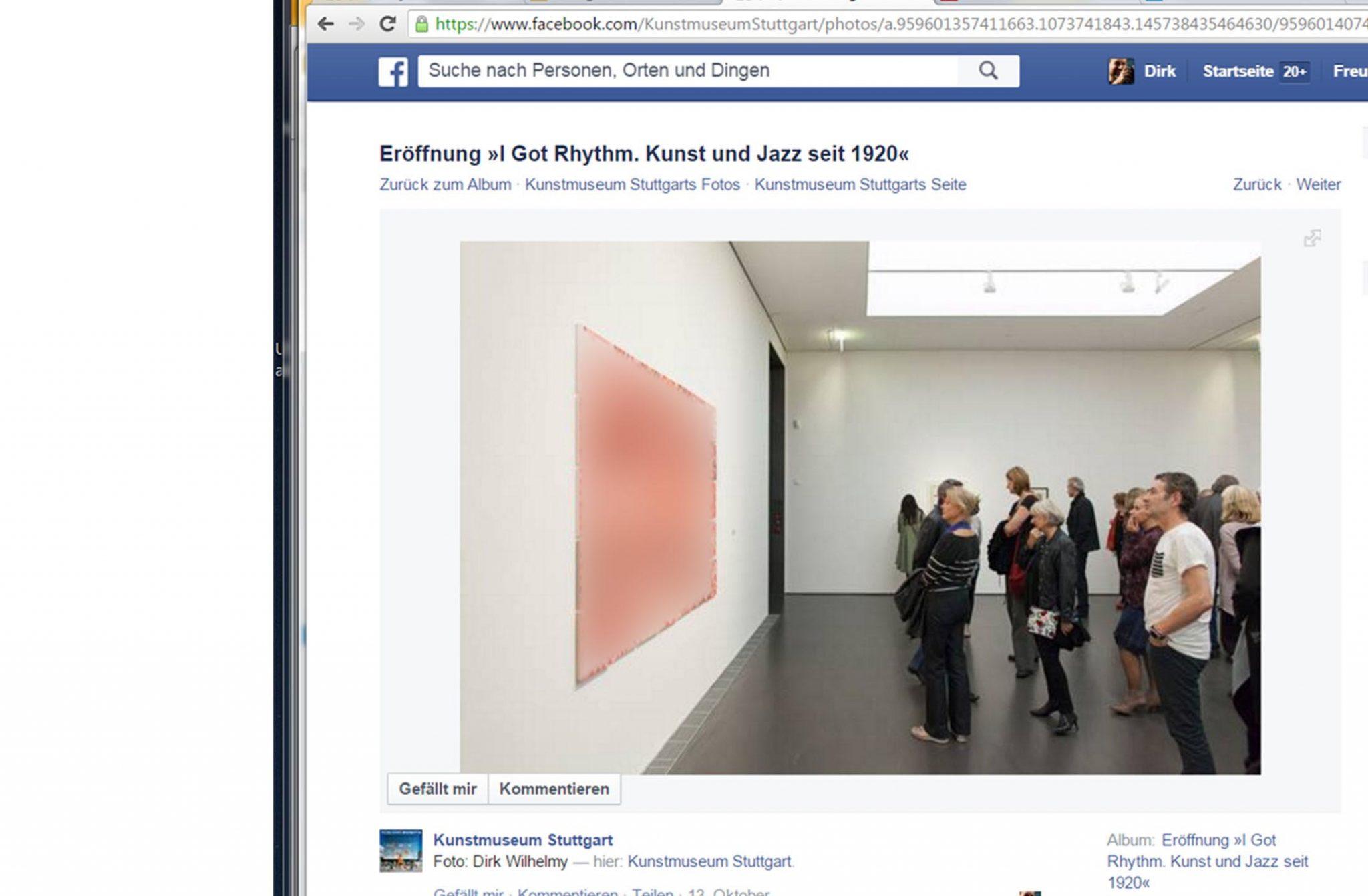 I got Rhythm, Kunstmuseum Stuttgart