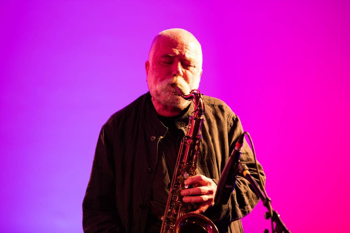 Kunstmuseum Stuttgart: 'I got Rhythm'-Konzert Peter Brötzmann