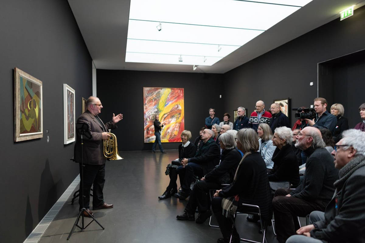 Kunstmuseum Stuttgart: 'I got Rhythm'-Veranstaltung mit Vincent Klink