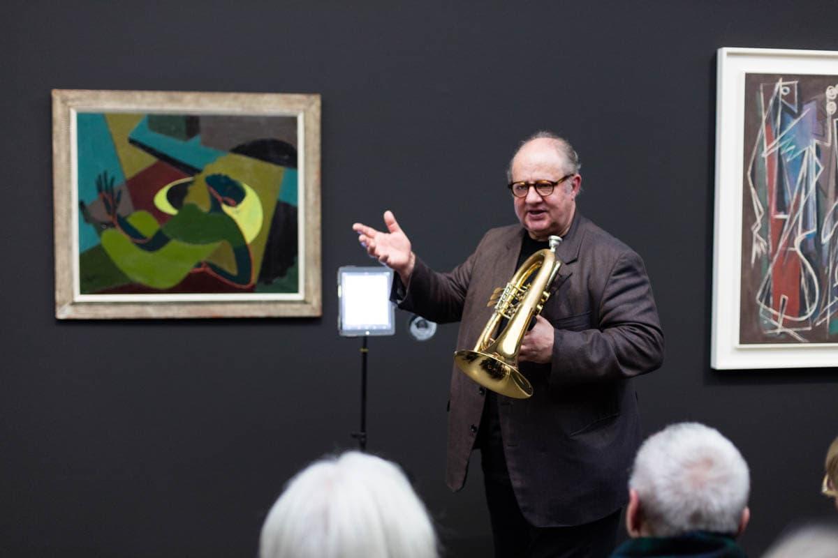 Kunstmuseum Stuttgart: 'I got Rhytm'-Veranstaltung mit Vincent Klink