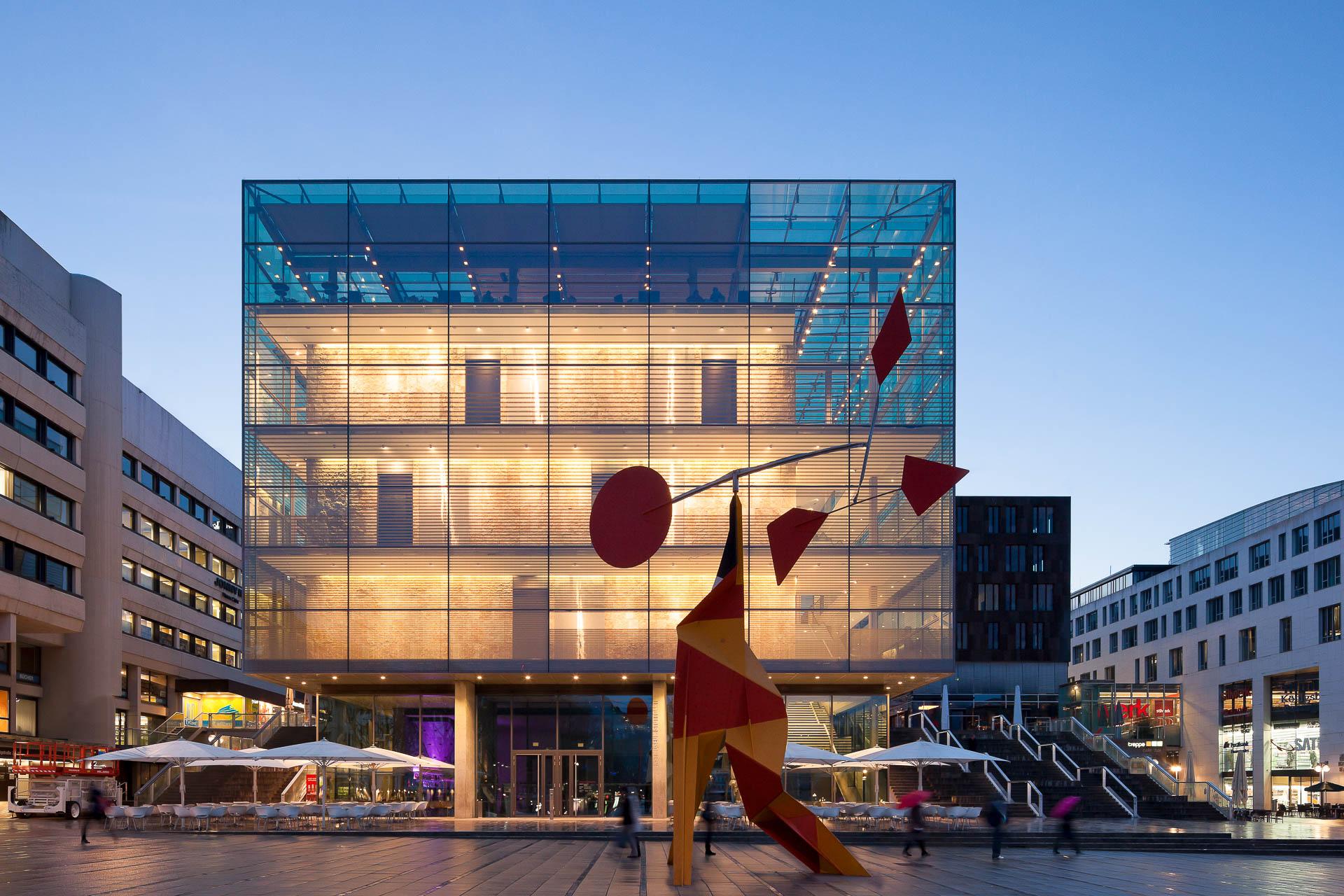 Kunstmuseum Stuttgart PR architectural photography by dirk wilhelmy stuttgart