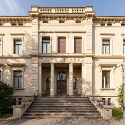 Villa Merkel Außenaufnahmen