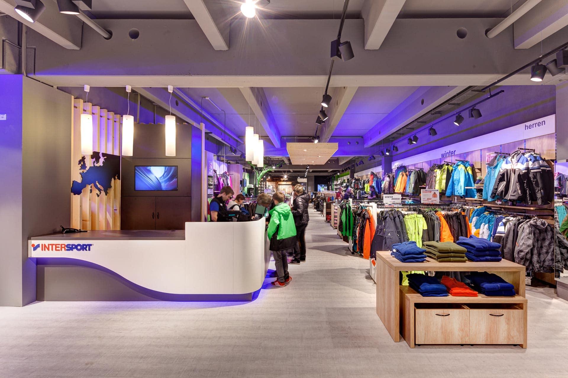 Retail Photography Intersport Shops Dirk Wilhelmy