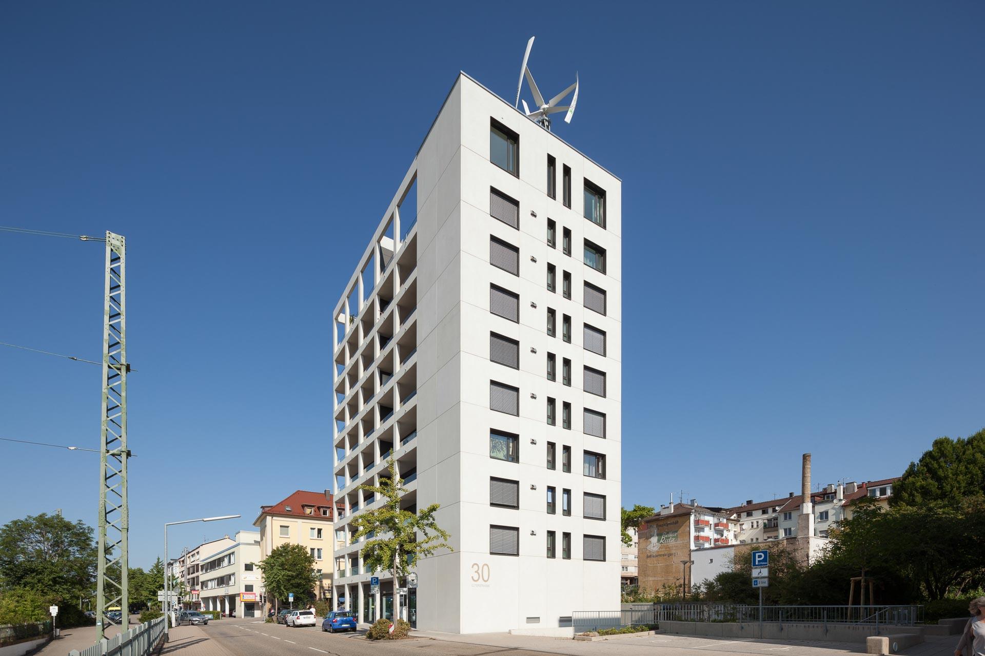 Sanierung Wohnhochaus Pforzheim Freivogel Mayer Architekten