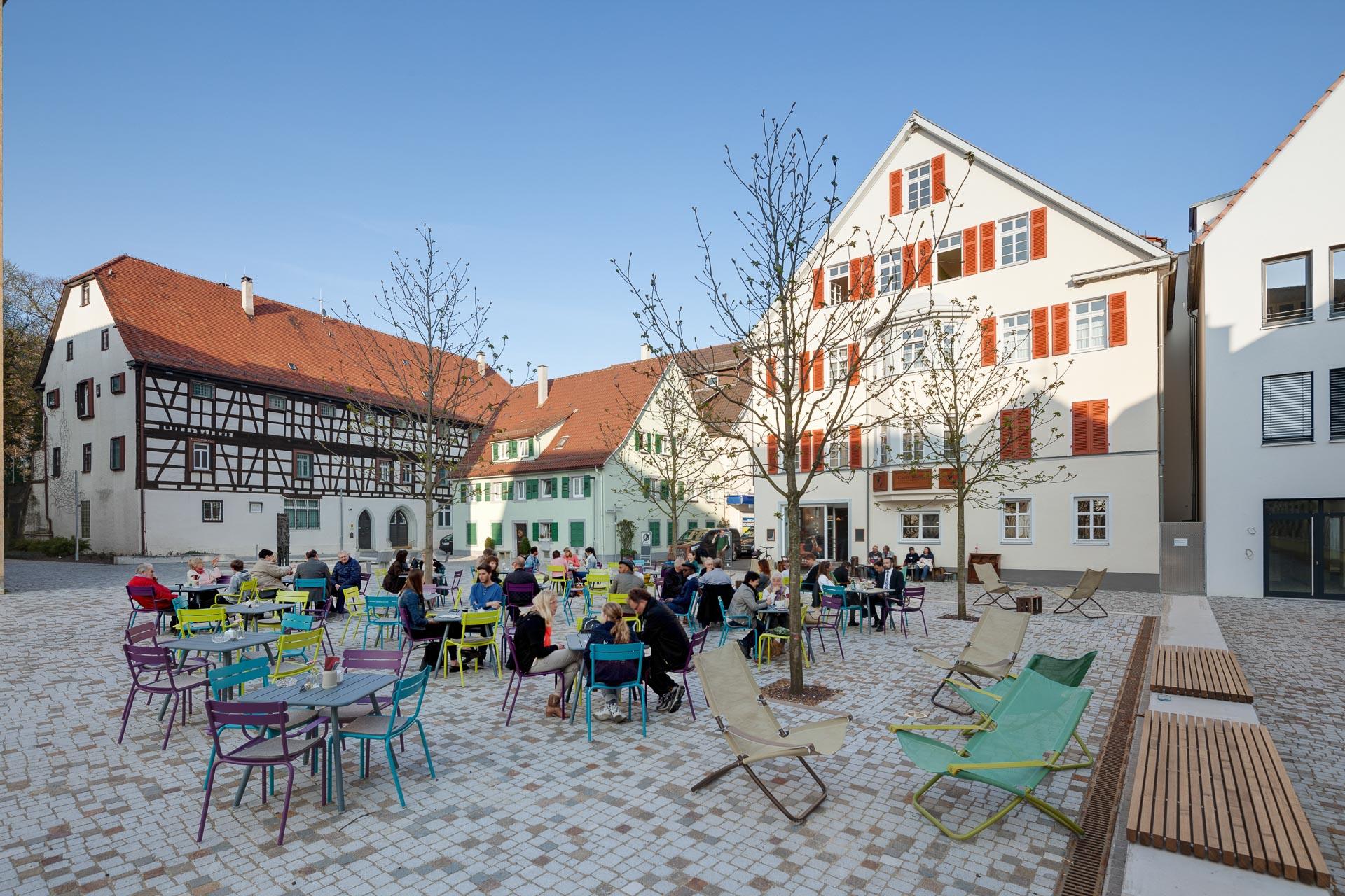 Schlossplatz Göppingen, Cheret Bozic Architekten