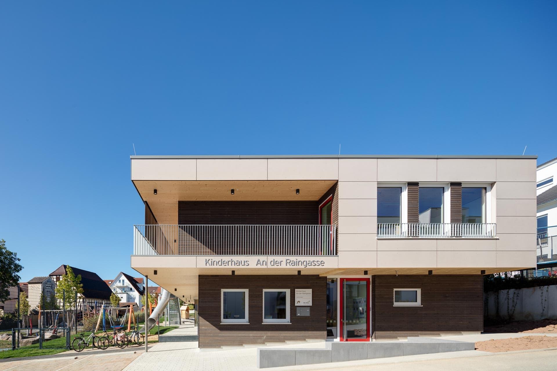 Architekturfotografie Kinderhaus Herrenberg