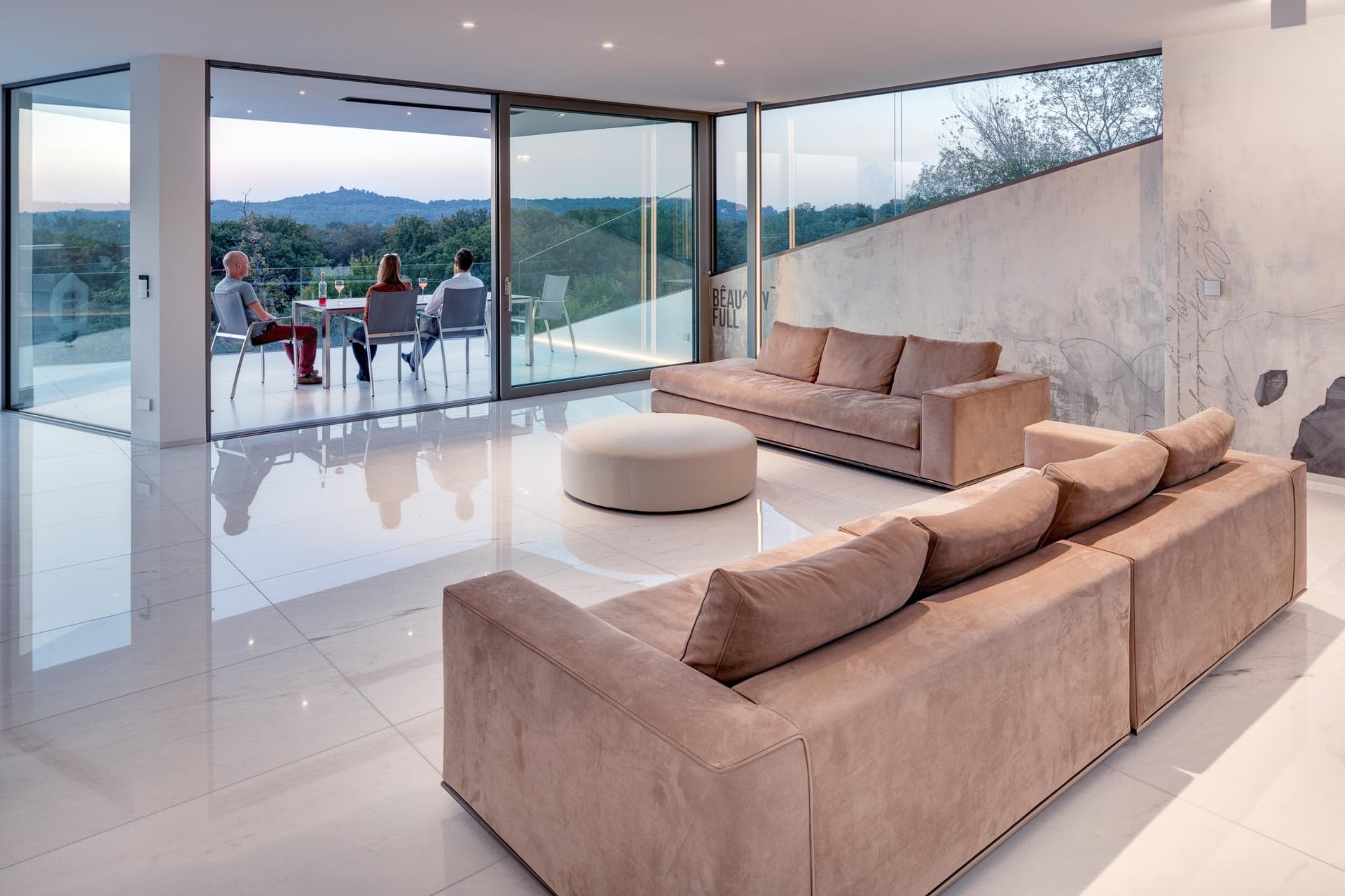 Villa Perlweiss. [Innen]Architektur von Lee/Mir