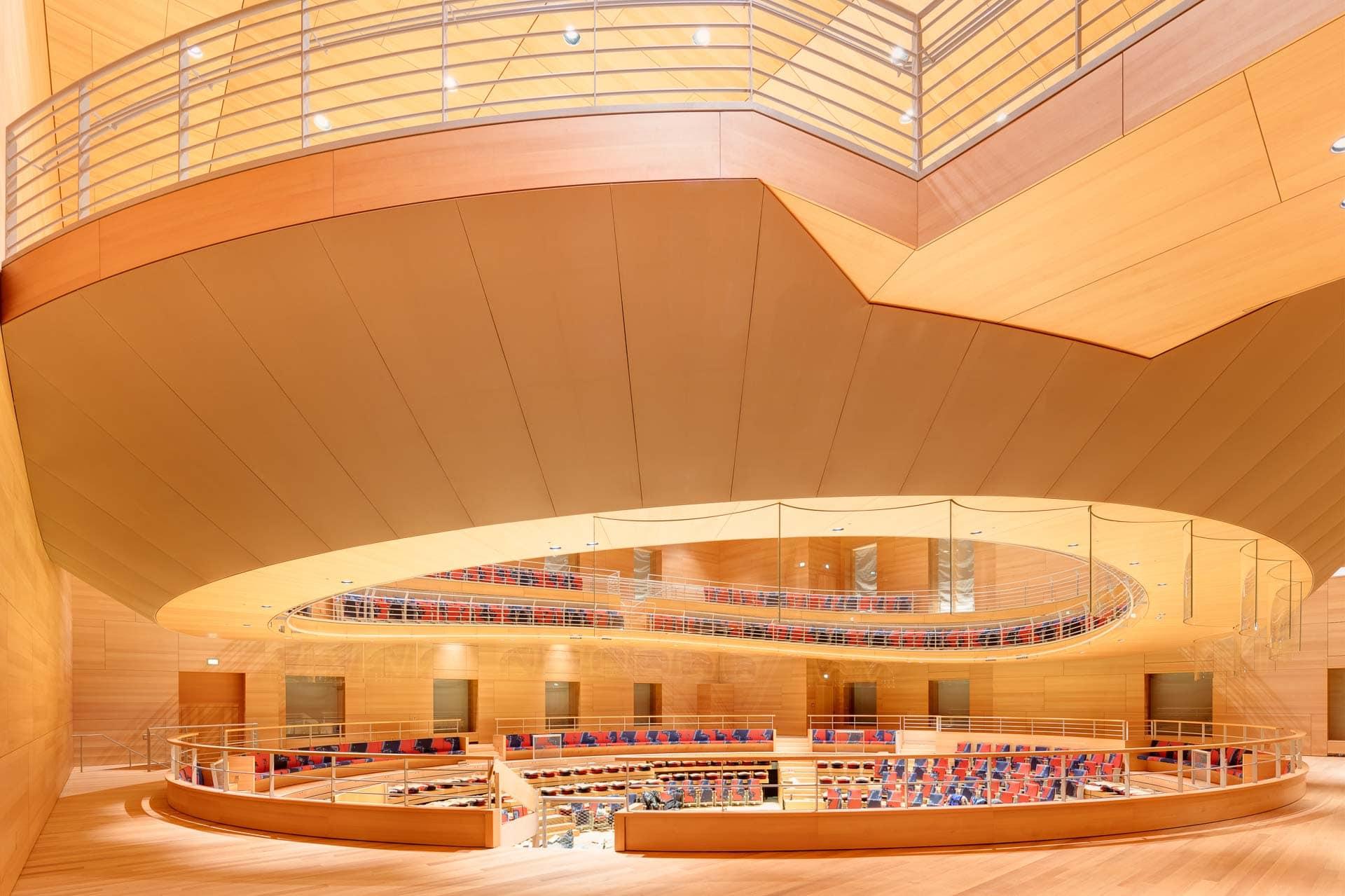 Barenboim-Said-Akademie, Pierre-Boulez-Saal, Frank Gehry