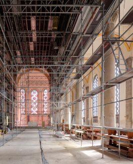 Sanierung Pfarrkirche in Neuhausen auf den Fildern