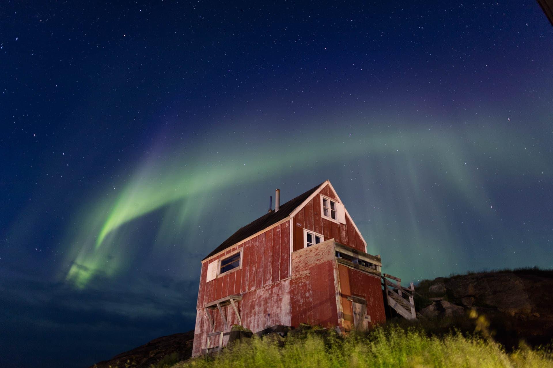Architekturfotografie iGrönland