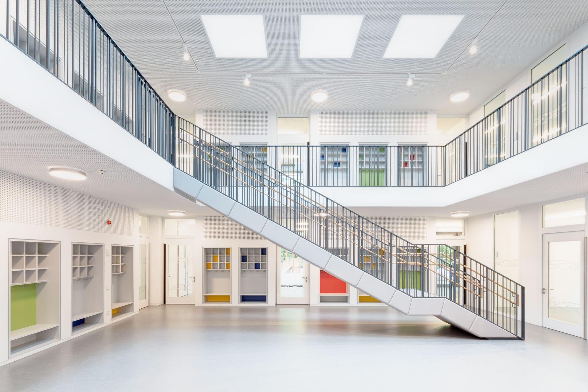 Architekturfotograf Michel + Wolf Architekten: Typenkindertagesstätten Stuttgart