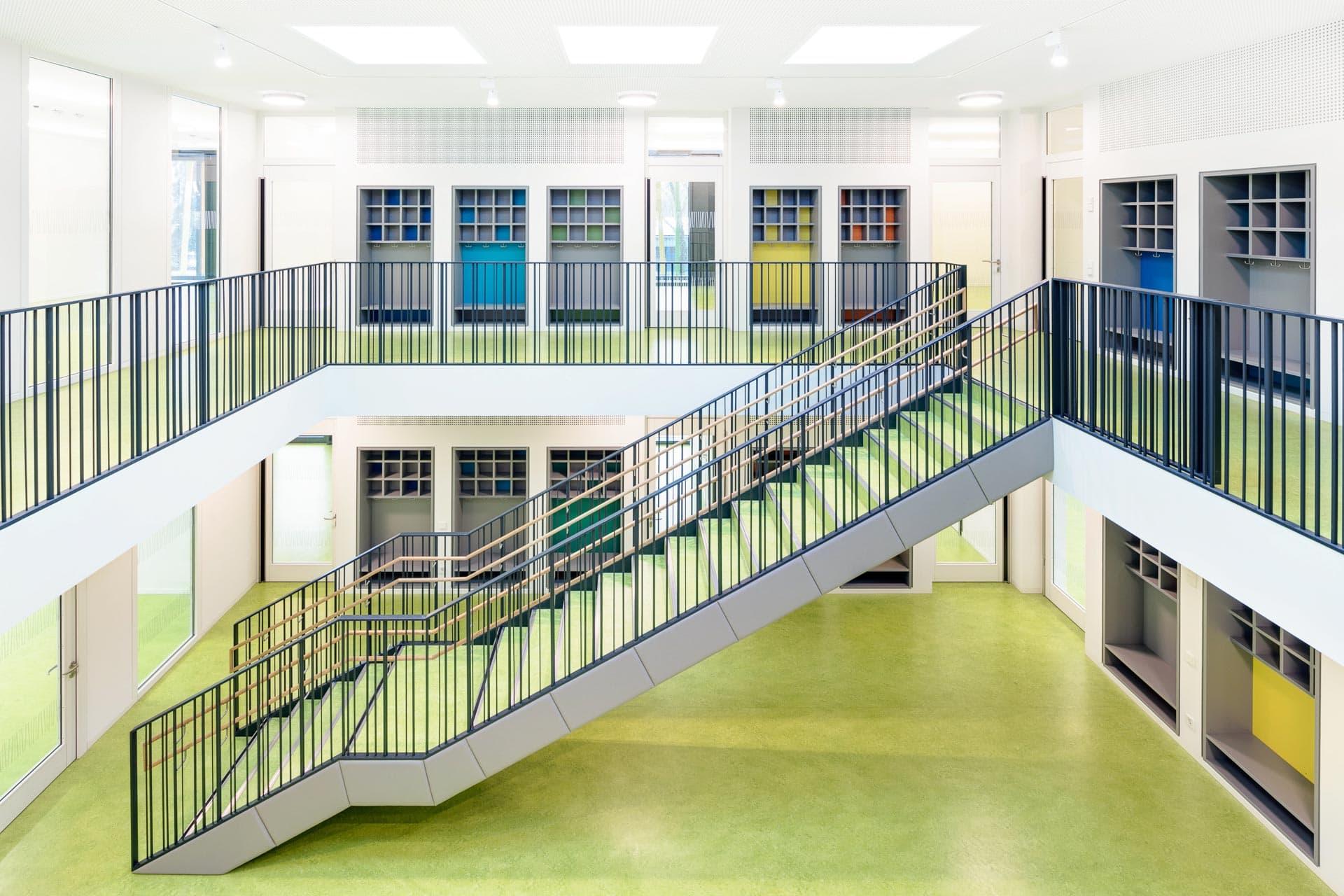Architekturfotografie Kita Typenbauten Stuttgartichel + Wolf Architekten: KiTa Stuttgart