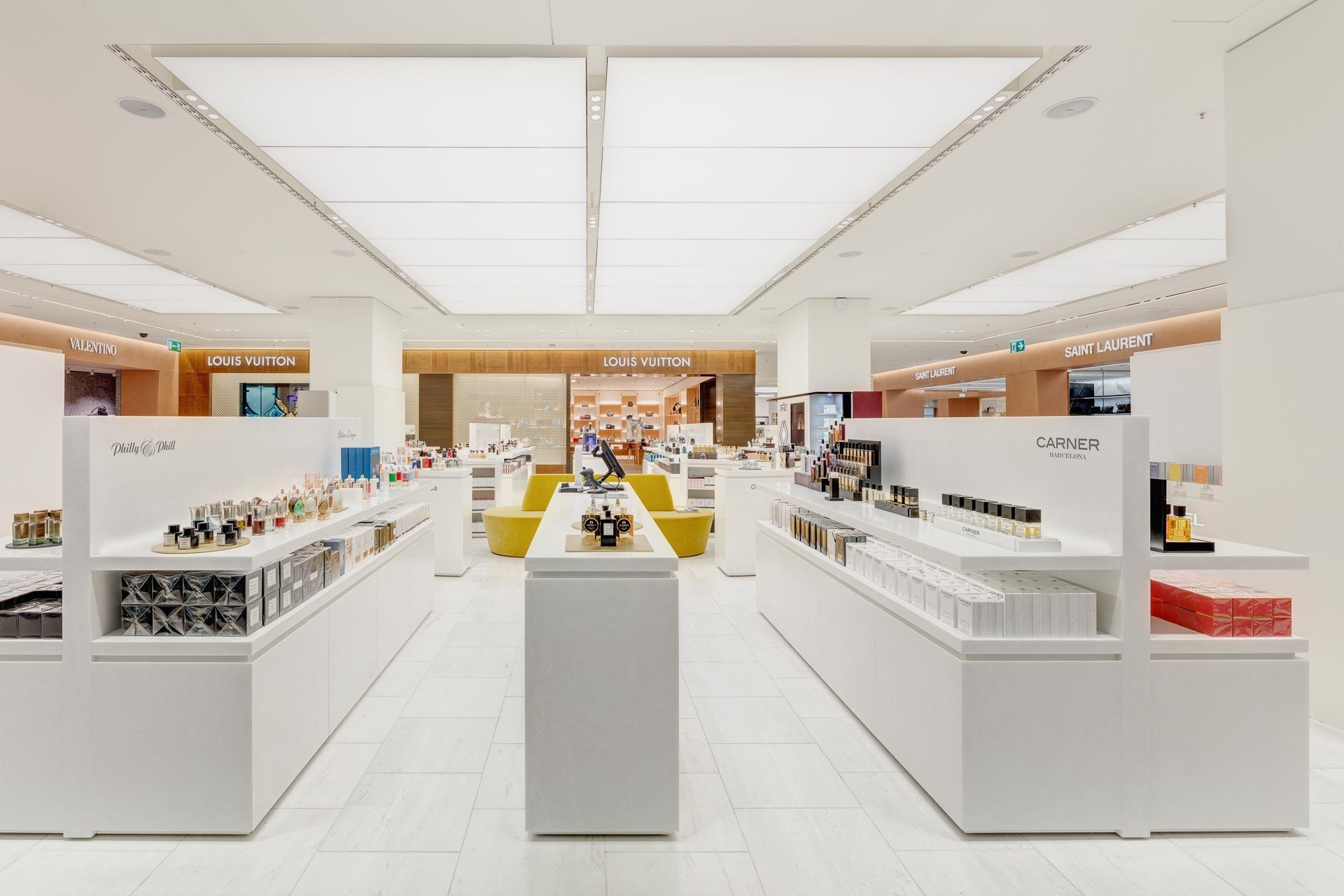 Retail Photography Oberpollinger München: Parfümerie