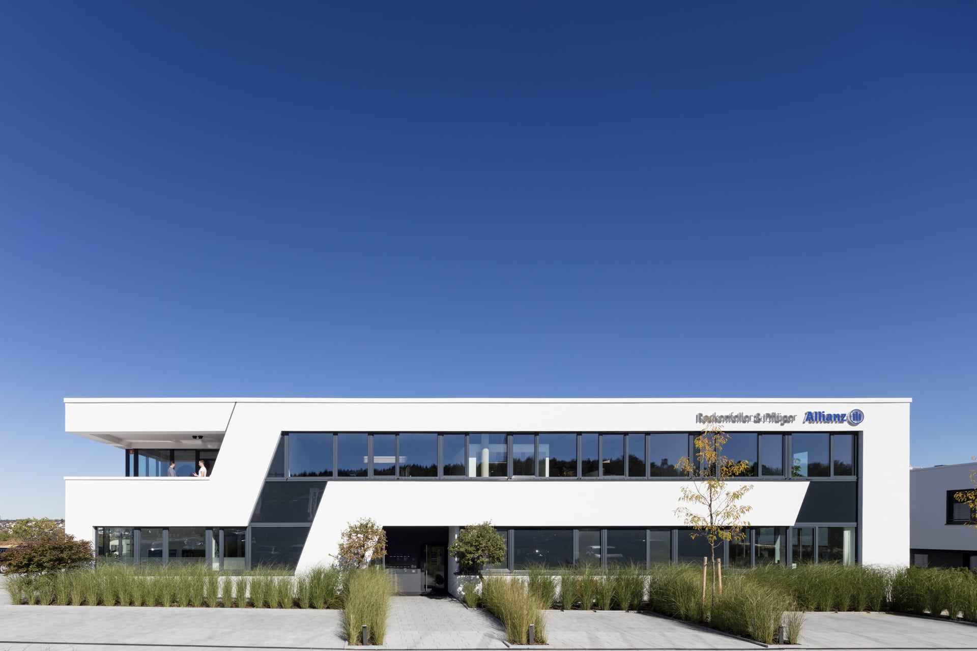 Architekturfotografie Büro und Gewerbebau Weissach