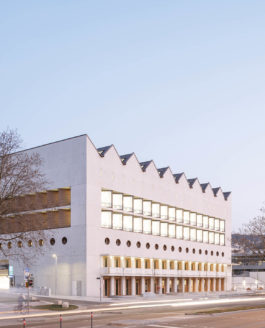 Erweiterung Württembergischen Landesbibliothek Stuttgart