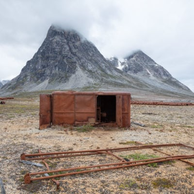 Greenland: Abandoned USAF Airfield Bluie East 2