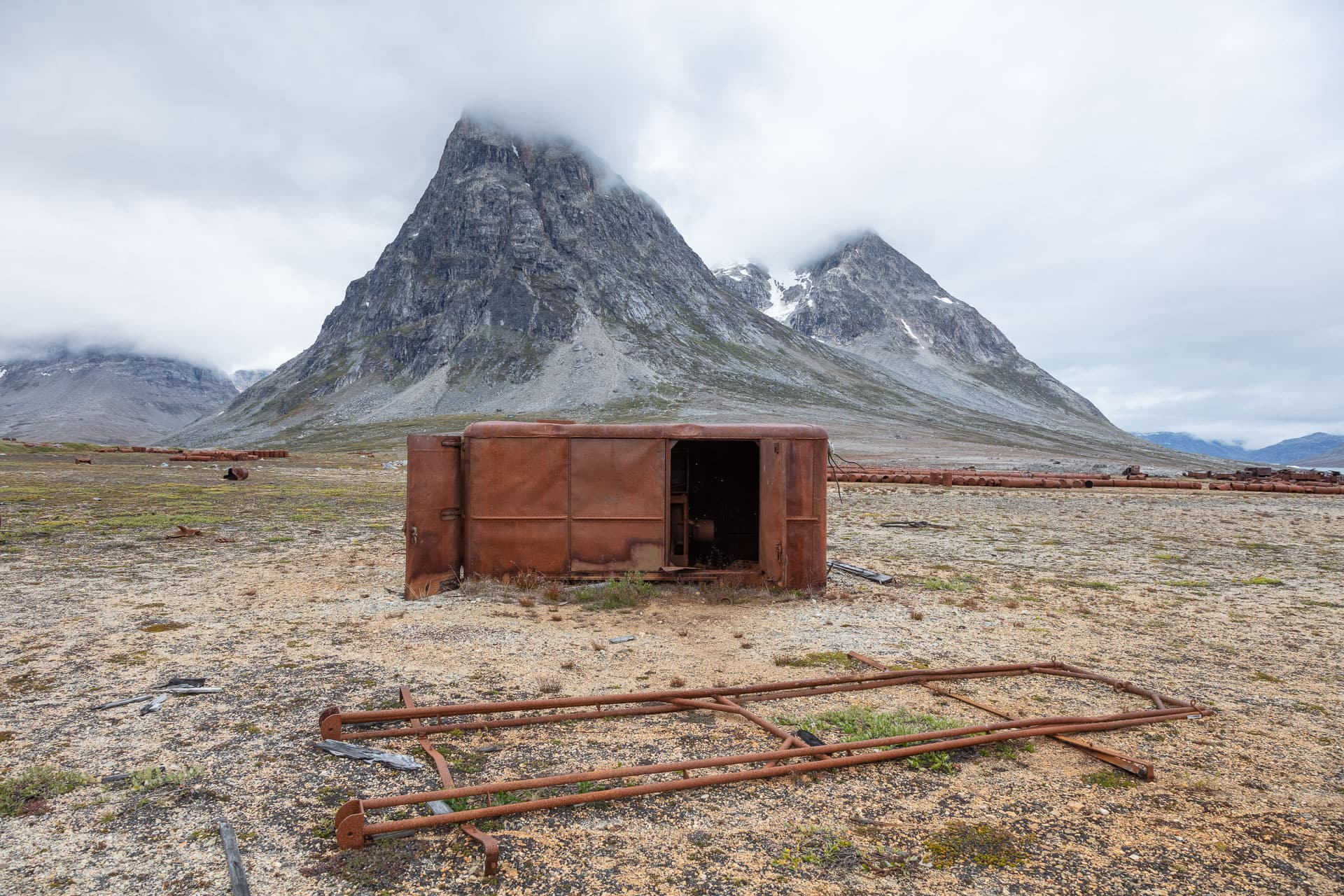 Architektural Photography Greenland USAF Airfield Blue East 2