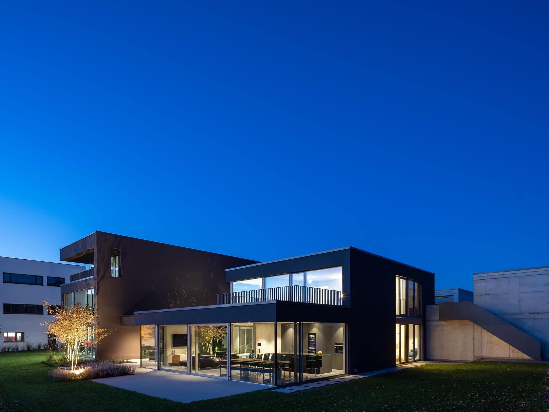 Architekturfotograf Waiblingen: Büro- und Wohnhaus