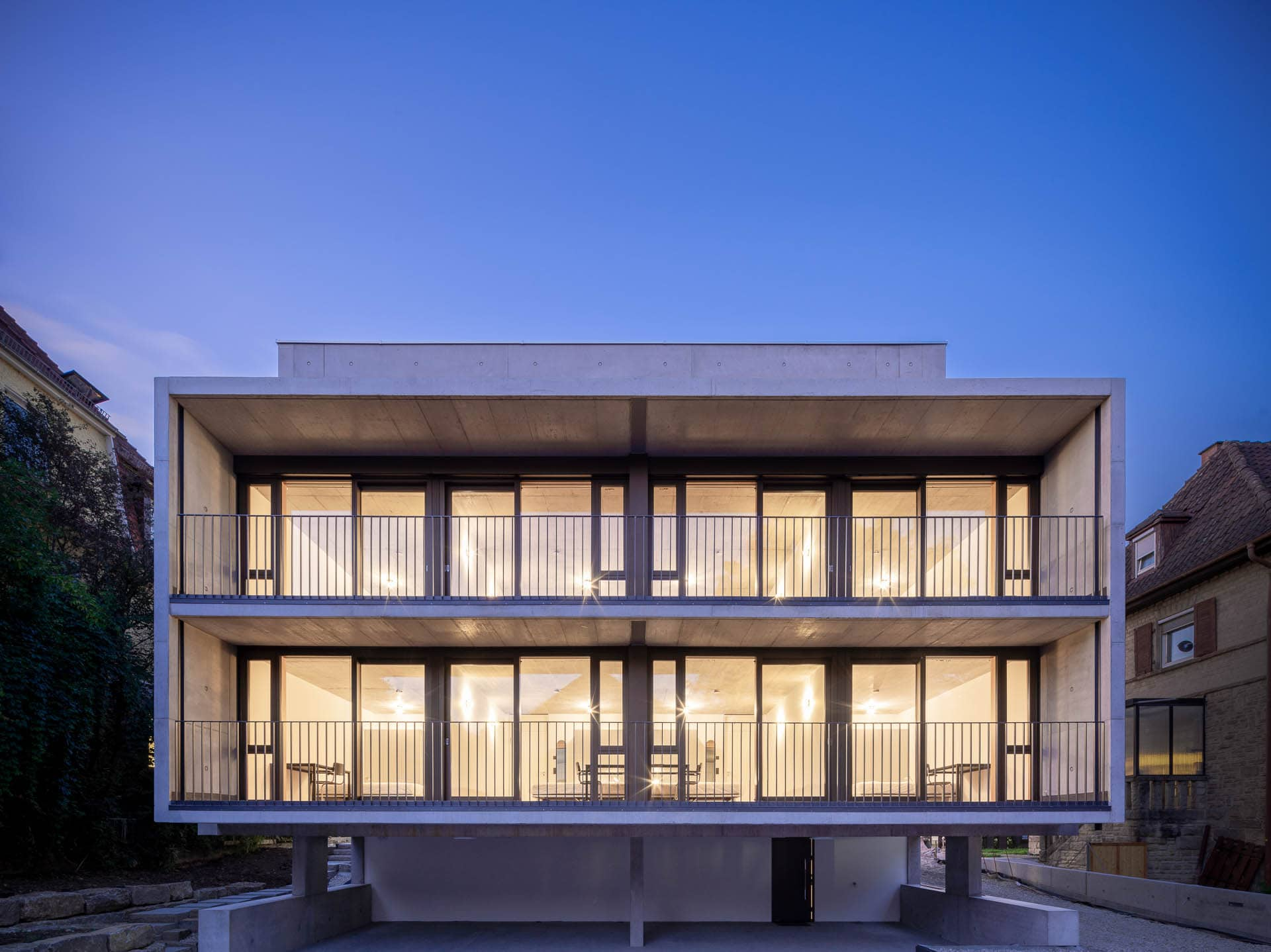 Architekturfotograf Tübingen, Wohnhaus W100, Schwille Architekten